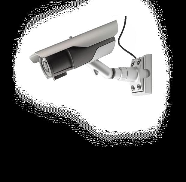 Монтаж камеры видеонаблюдения