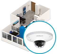 Монтаж систем видеонаблюдения в офисе