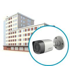 Монтаж уличных систем видеонаблюдения