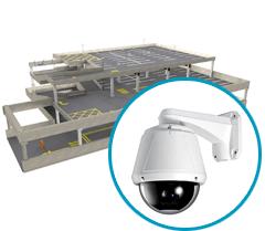 Системы видеонаблюдения с поворотными камерами